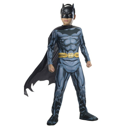 Boys Photo Real Batman Costume](Diy Batman Costume Kids)
