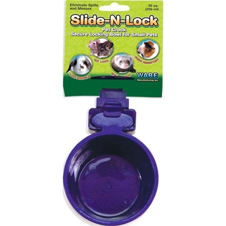 SLIDE-N-LOCK PET CROCK