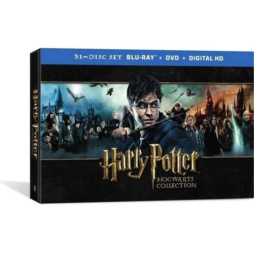Harry Potter Hogwart's Collection (Blu-ray + DVD + Digital HD) (With INSTAWATCH) (Widescreen)