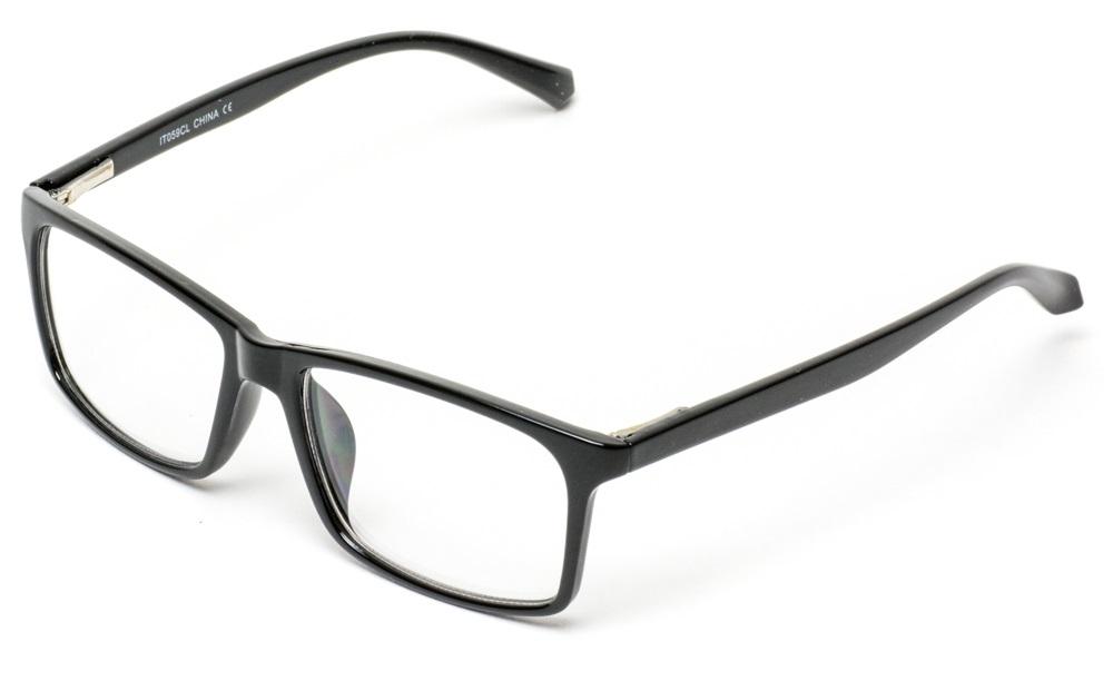 d60d7bc3b32 WearMe Pro - Unisex Retro Squared Celebrity Star Simple Clear Lens Fashion  Glasses - Walmart.com