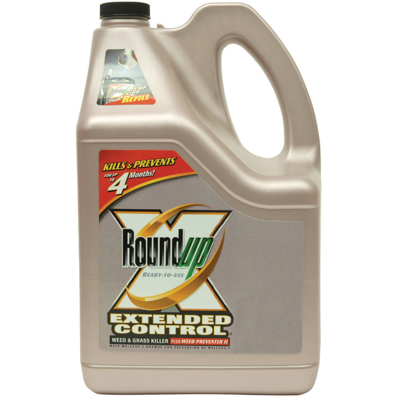 Roundup Ready-To-Use Extended Control Weed & Grass Killer Plus Weed Preventer, II Refill 1.25 gal