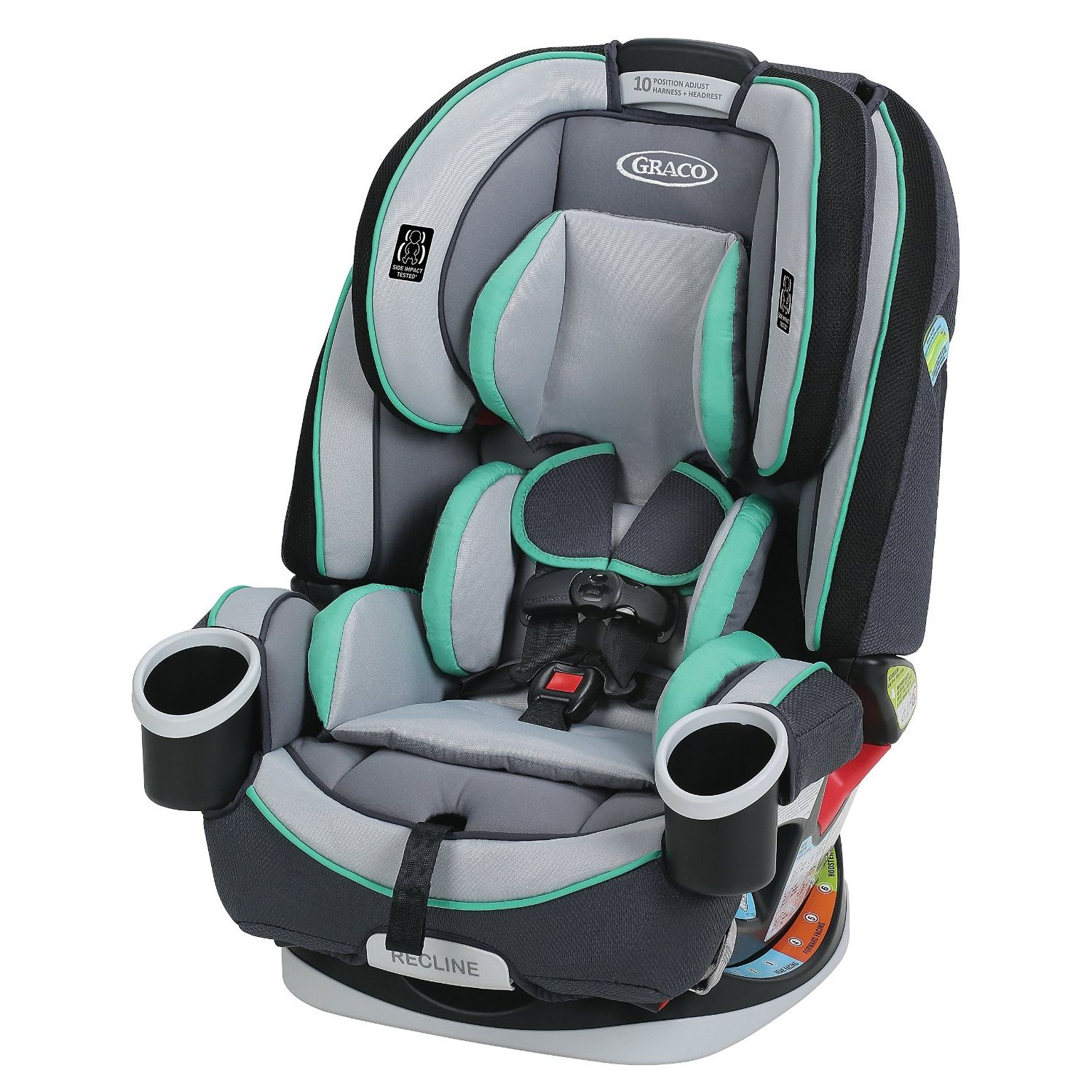 Graco 4Ever All-in-1 Convertible Car Seat, Choose Your Pattern by Graco