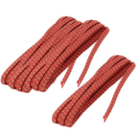 Apartment Fabric Trousers Garments Sewing Stretchy Elastic String Rope Red 4pcs
