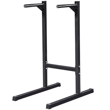 Dip Bar Station Dip Stand Machine Fitness Exercise Home Gym Pull Up Tricep