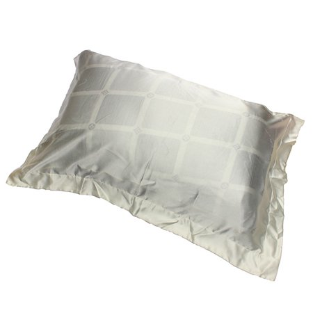 Healthy Silk Sleep Helper - Ivory White Silky Soft Charmeuse Silk Pillow Case Beauty Pillowcase Sleep-helper 33x22