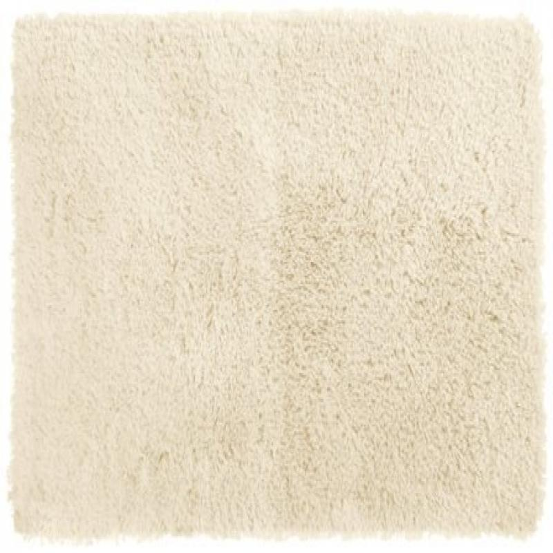 Crowning Touch Luxurious Non-Slip Bath Rug, 17 by 24-Inch, Ivory