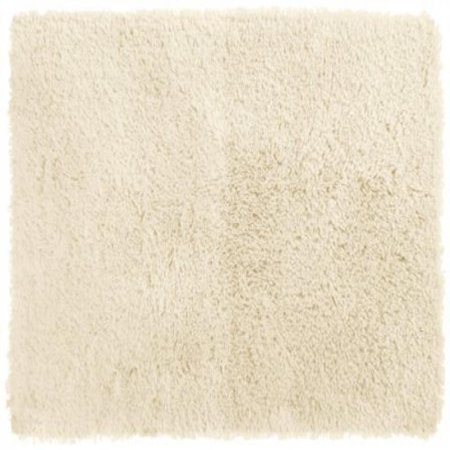 Crowning Touch Luxurious Non-Slip Bath Rug, 17 by 24-Inch, Ivory - White Contact Lenses Non Prescription