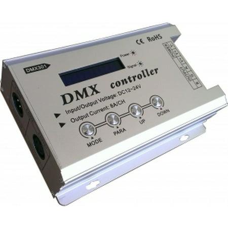 Dmx Blackout Controller (DMX RGB Controller 12V-24V High Power 8A/ch )