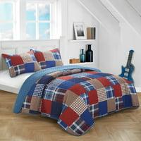 Heritage Club Patchwork Quilt Set, Mulitple Colors/Sizes