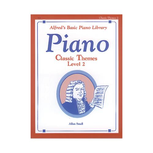 Alfred 00-3122 Basic Piano Course- Classic Themes Book 2 - Music Book