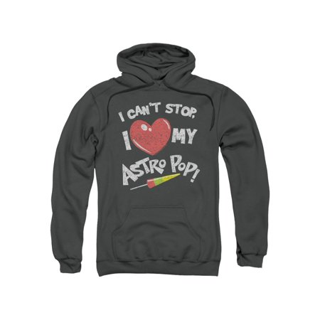 Astro Pop Can't Stop I Heart My Distressed Vintage Style Adult Pull-Over (Distressed Vintage Sweatshirt)