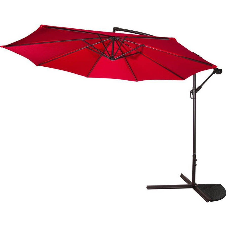 Trademark Innovations UMBASE-WT44 Resin Base Weight for Offset Umbrella Single Set 44 lbs