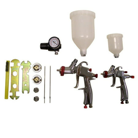 SPRAYIT SP-33500K LVLP Gravity Feed Spray Gun Kit (Best Small Spray Gun)