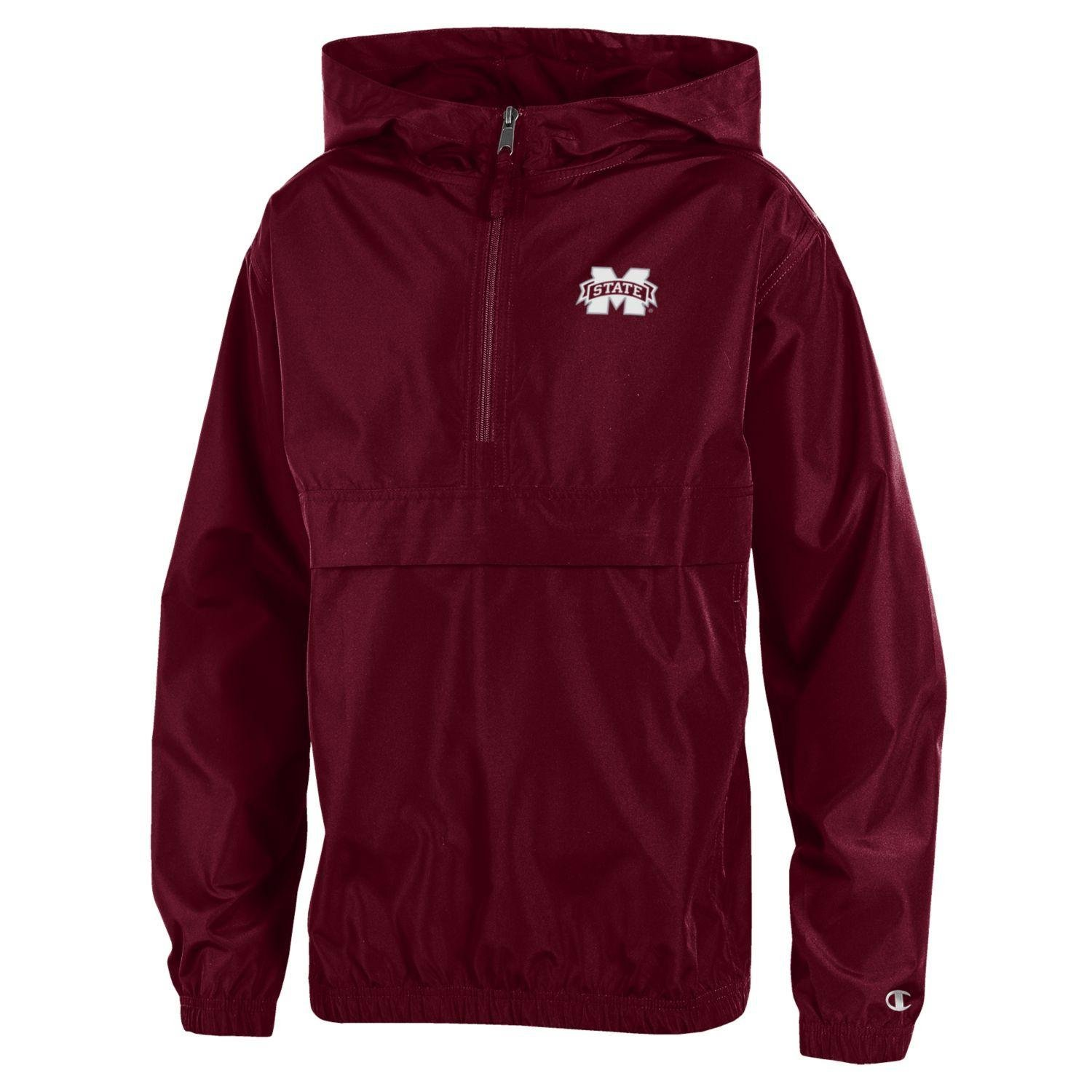 NCAA Mississippi State Bulldogs Men's Pack & Go Jacket, X-Large, Maroon by Gear for Sports, Inc.