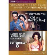 Greatest Classic Films: Elizabeth Taylor Double Feature Cat On A Hot Tin Roof   Butterfield 8 by