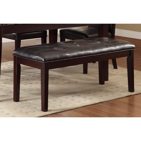 Woodhaven Hill Teague Upholstered Kitchen Bench