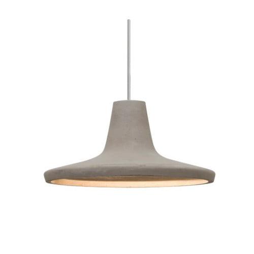 Modus Bronze One-Light Halogen Mini Pendant with Tan Shade by Besa Lighting
