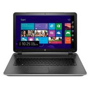 HP Pavilion 17-f267nr 17.3 Notebook - Core i5 5200U 2.2 GHz - 8 GB RAM - 1 TB HDD - Natural Silver/Horizontal Brushed Line Desig