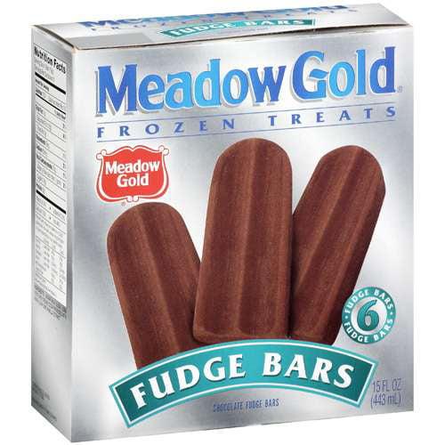 Meadow Gold Fudge Bars, 6 ct
