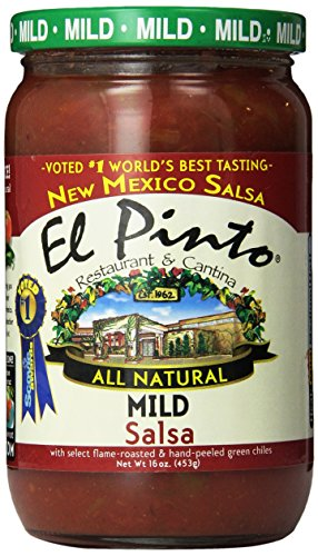 El Pinto Mild Salsa, 16 Ounce (Pack of 6) by El Pinto