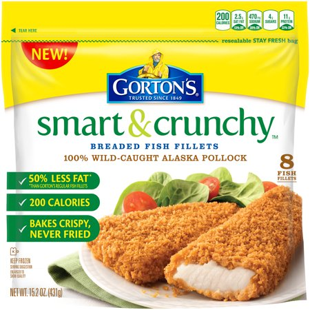 Gorton 39 s smart crunchy breaded fish fillets 15 2 oz for Gorton s fish coupons