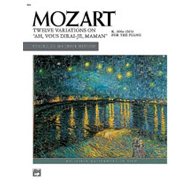 Alfred 00-899 Ah- vous dirai-je- Maman- K. 265- 12 Variations on - Music Book