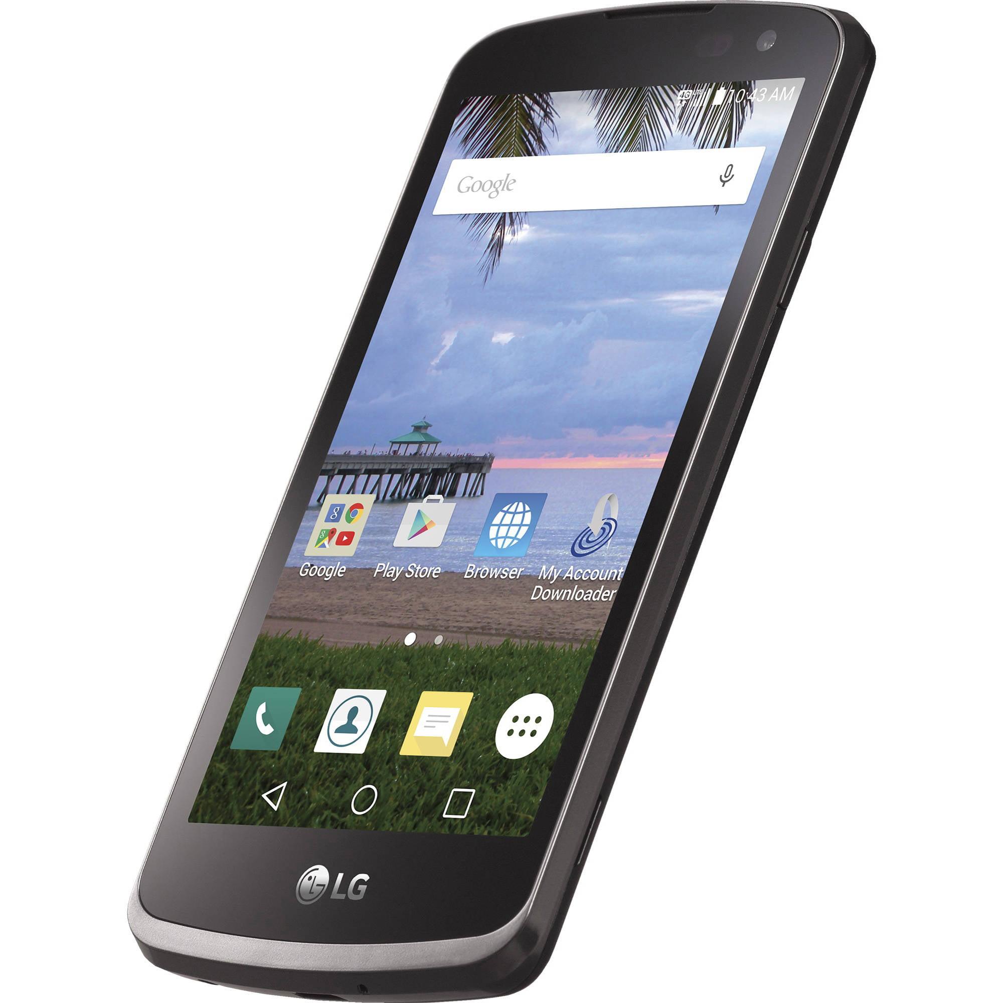 TracFone LG Rebel 4G LTE CDMA Prepaid Smartphone