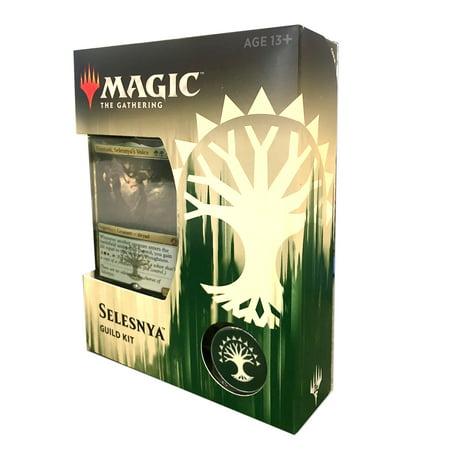 MAGIC THE GATHERING TCG: 2018 GUILD KIT- Selesnya TRADING (Elemental Magic Gathering)