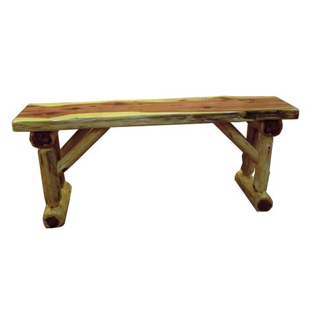 Surprising Furniture Barn Usa Red Cedar Log Dining Hall Bench Squirreltailoven Fun Painted Chair Ideas Images Squirreltailovenorg