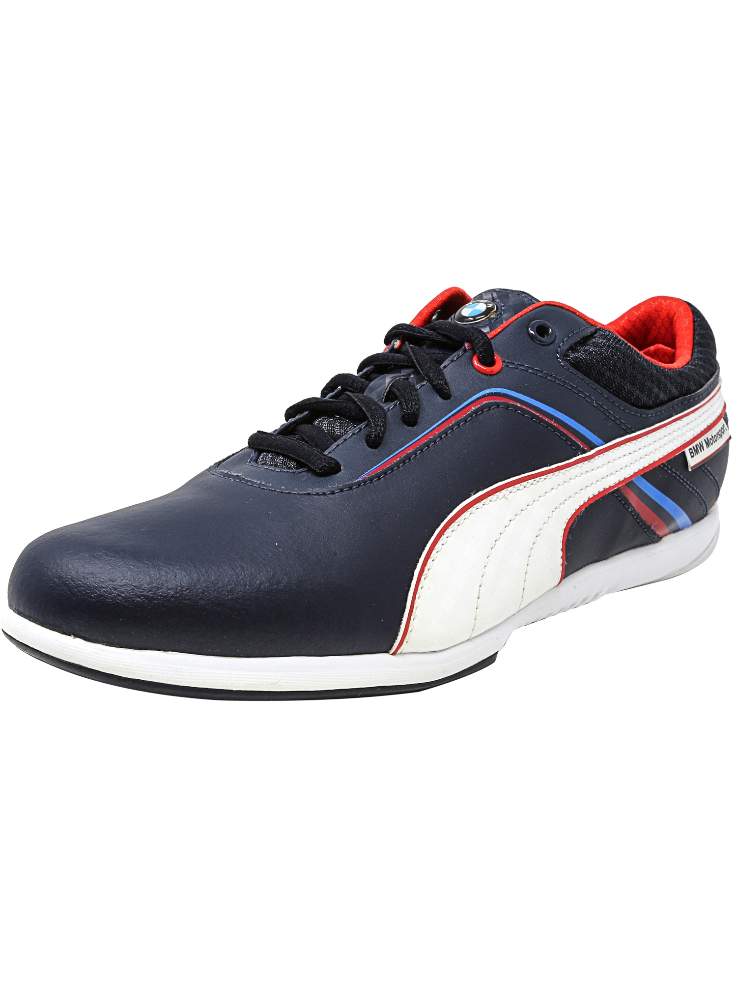 Puma Men's Bmw Motorsports Ignis Nm Team Blue / White Ankle-High Fashion Sneaker - 8M