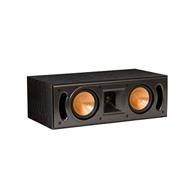 klipsch rc-42 ii reference series center channel loudspeaker - each (black)