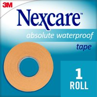 Nexcare Waterproof First Aid Tape, Hospital Grade, 1/Roll