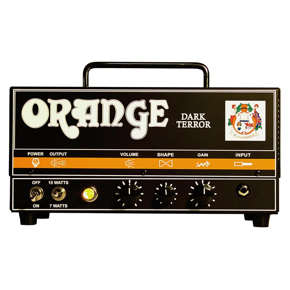 Orange Amplification Dark Terror 15-Watt Tube Guitar Amplifier Head