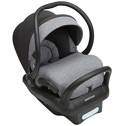 MAXI-COSI Mico Max 30 Infant Car Seat, Sweater Knit - Shadow Grey