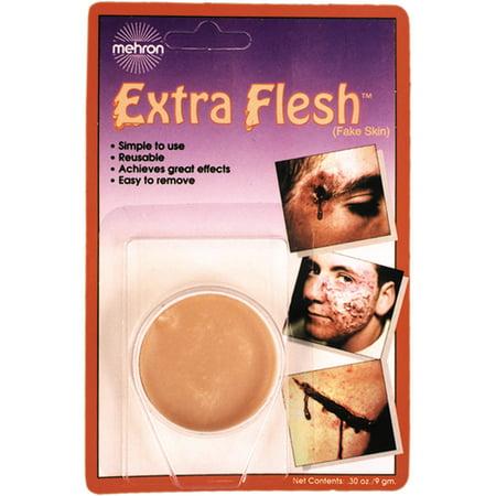 Extra Flesh Fake Skin Adult Halloween Accessory](Fake Breast For Halloween)