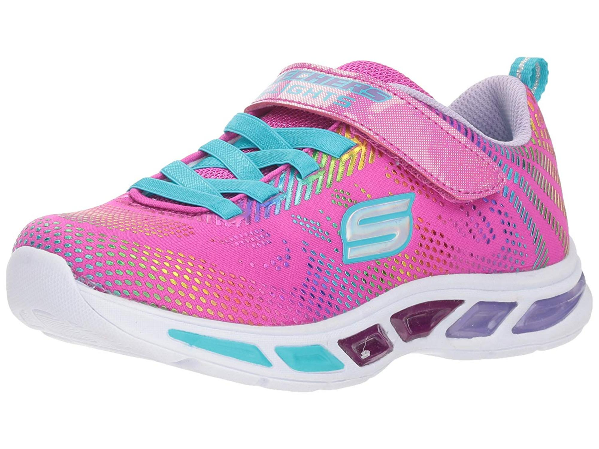 new SKETCHERS light up tennis shoes  2 3 4 5 LITEBEAMS