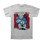 Close Your Eyes Men's  90's Hardcore T-shirt Grey