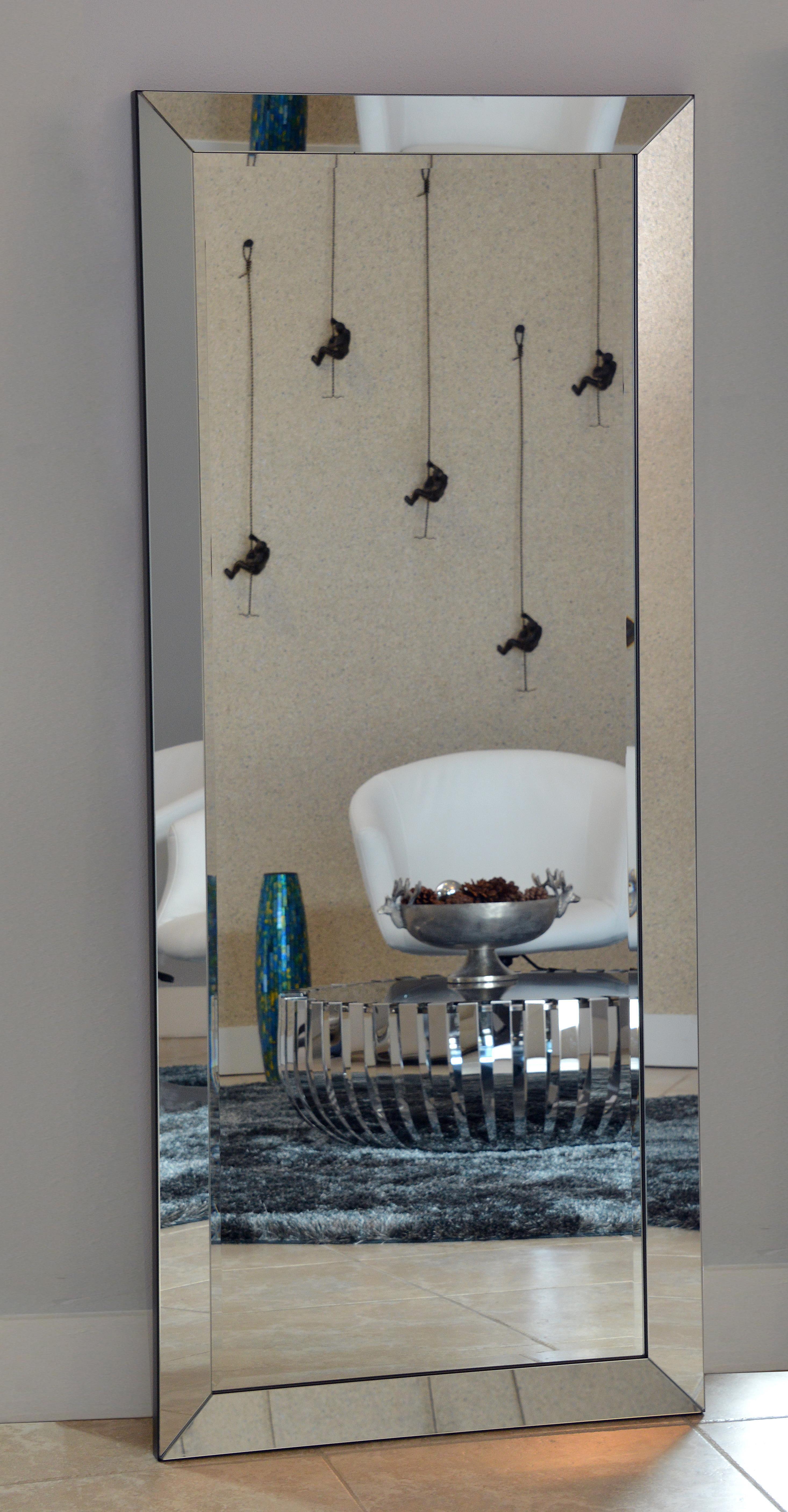 Bevelled Floor Mirror - Home Design Ideas
