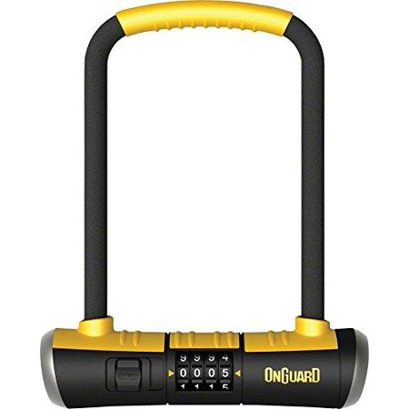 Onguard Bulldog Dt U-lock - ONGUARD Bulldog Combo U-Lock, 4.5x9-Inch