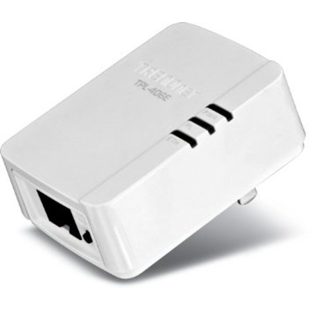 TRENDnet-Powerline-500-AV-Mini-Network-Single-Adapter-Up-to-500-Mbps-over-existing-electrical-lines-TPL-406E