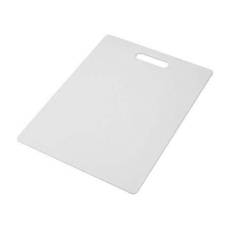Farberware 11-inch By 14-inch White Poly Cutting Board