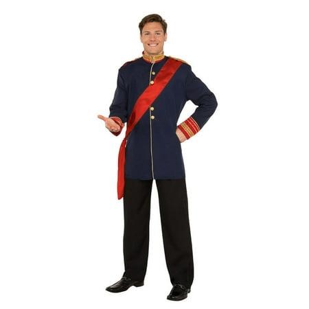 Halloween Royal Prince Adult Costume - Royal Couple Halloween Costume
