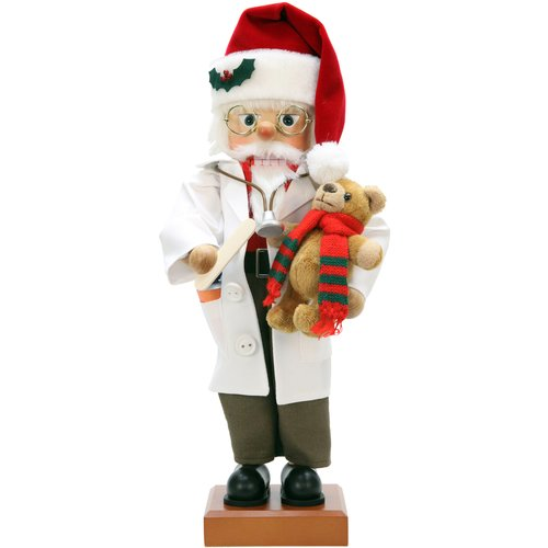 The Holiday Aisle Christian Ulbricht Doctor Santa Nutcracker
