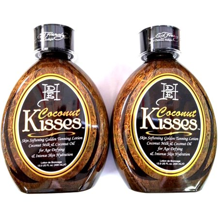 Bee Lotion (Lot of 2 Ed Hardy Coconut Kisses Tanning Bed Lotion By Christian)