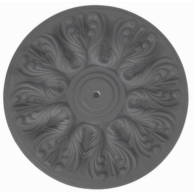 Galtech Cast Iron Base - Black - 75 lbs