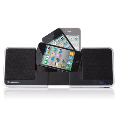 Brookstone iDesign Flip Speaker Dock
