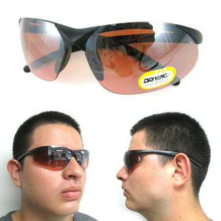 Driving Glasses Copper Lens Mens Womens UV Designer Sport Sunglasses Eyewear !