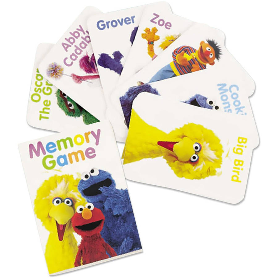 Sesame Street Party Memory Game