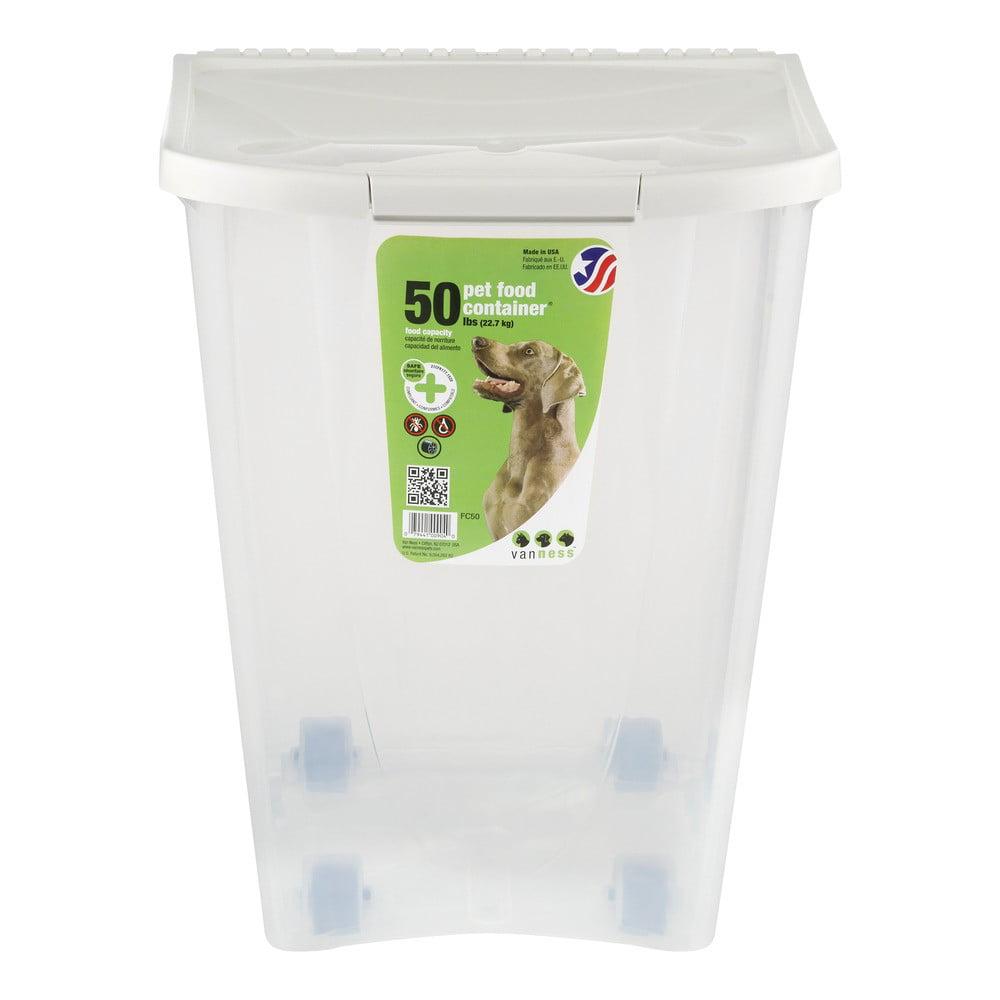 Van Ness Pet Food Storage Container 50 Lb Walmartcom