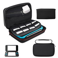Carry Case for Nintendo New 2DS XL/New 3DS XL, TSV  Hard Travel Protective Shell for New Nintendo 3DS, New 2DS Console&Game